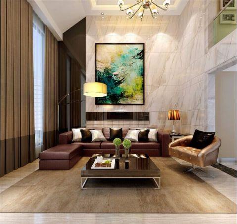 滨湖假日200平米现代简约四居室装修效果图