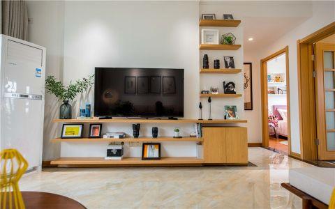 香溢紫郡100平方简欧风格三居室装修效果图