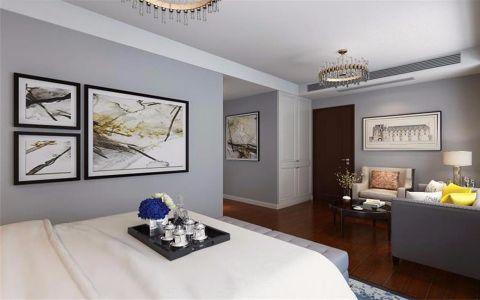 卧室门厅后现代风格效果图
