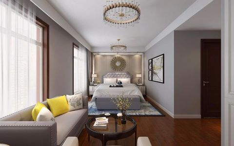卧室门厅后现代风格装修效果图