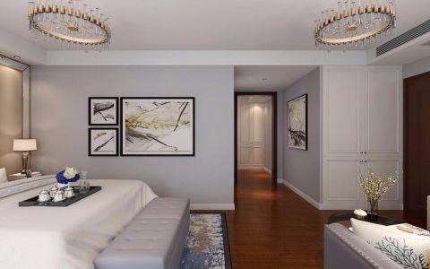 卧室走廊后现代风格装潢效果图