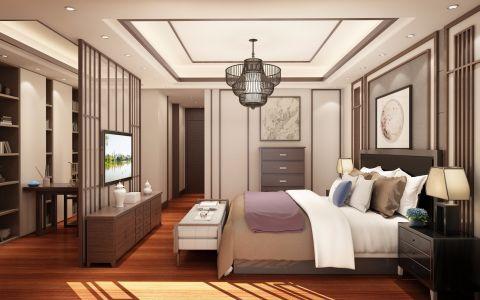 卧室电视柜新中式风格装潢效果图