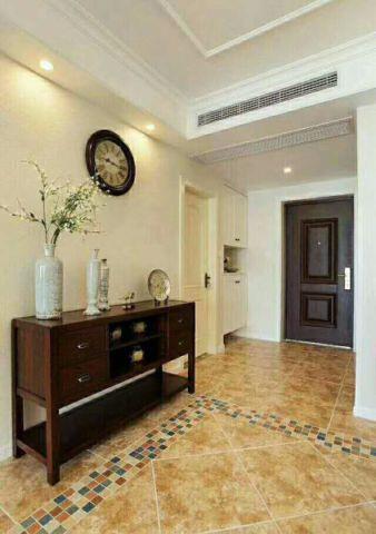 客厅门厅美式风格装修效果图