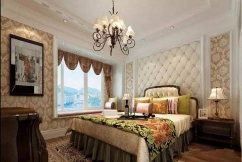 卧室米色床欧式风格装修效果图