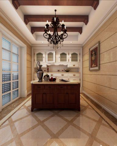 厨房吊顶欧式风格装修效果图
