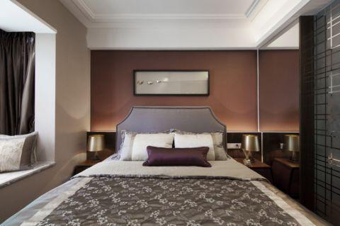 卧室飘窗简约风格效果图