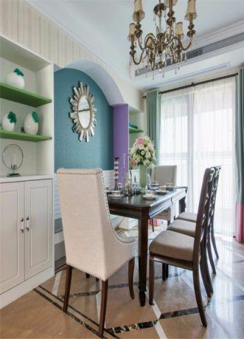 新华联青年城95平美式风格两居室效果图