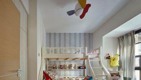 儿童房飘窗北欧风格效果图