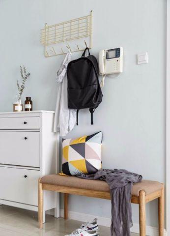 玄关鞋柜简约风格装潢设计图片