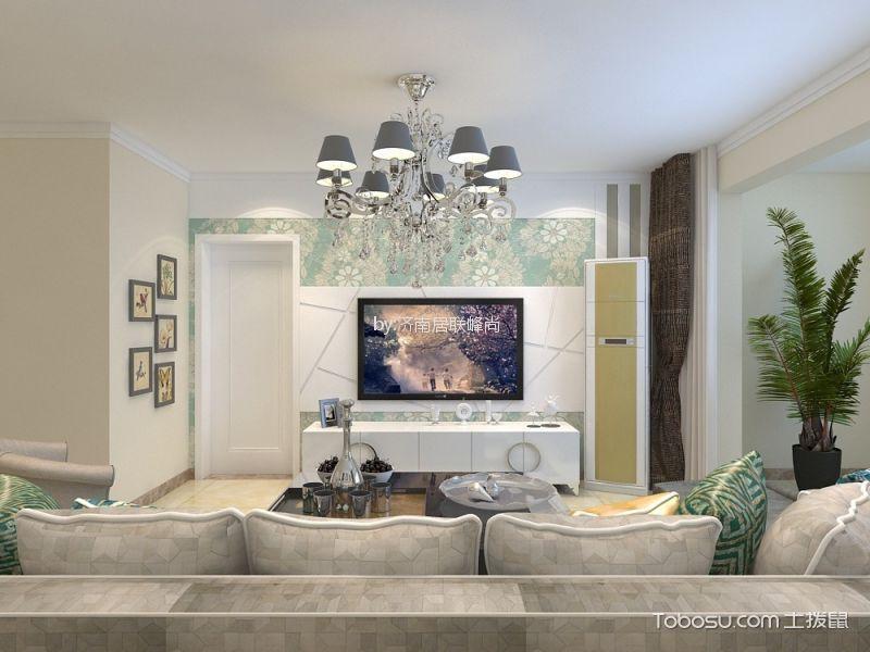 海尔云世界145平三居室地中海风格装修效果图