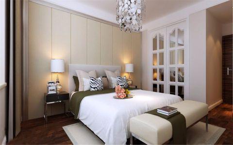 卧室床头柜新中式风格装潢效果图