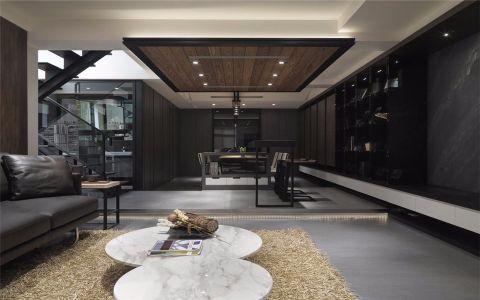 綠都萬和城170平米現代簡約風格三室裝修效果圖
