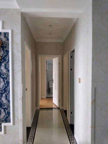 玄关白色走廊简欧风格效果图