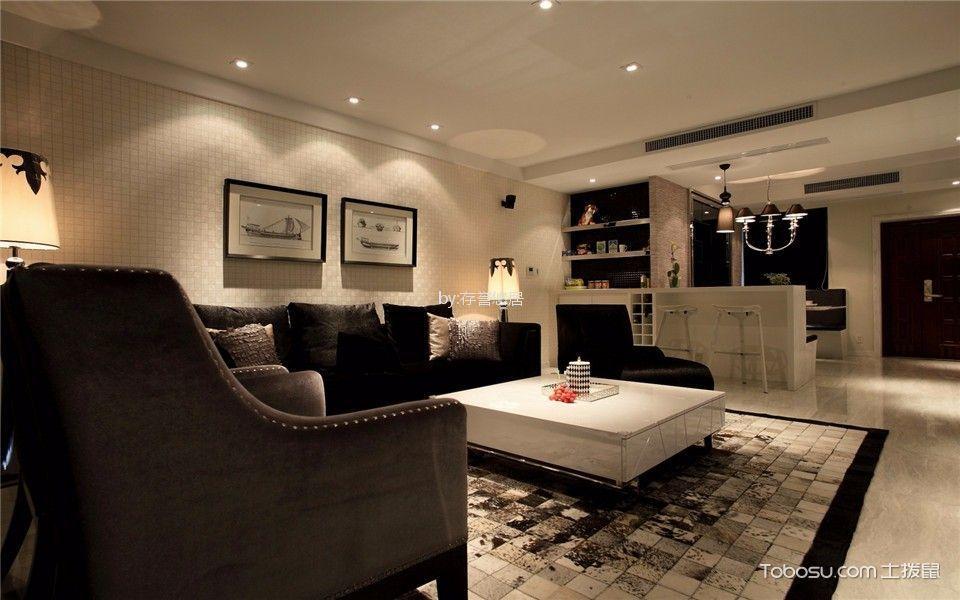 嘉宏云顶140平米现代简约风格二室装修效果图