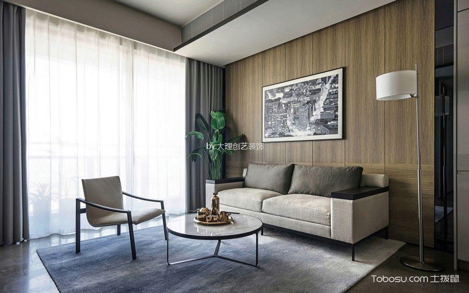 大理阳光三居室现代简约风格装修效果图