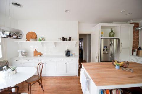 厨房现代风格效果图大全2017图片_土拨鼠美好优雅厨房现代风格装修设计效果图欣赏