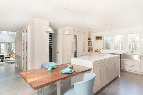 厨房北欧风格效果图大全2017图片_土拨鼠浪漫写意厨房北欧风格装修设计效果图欣赏