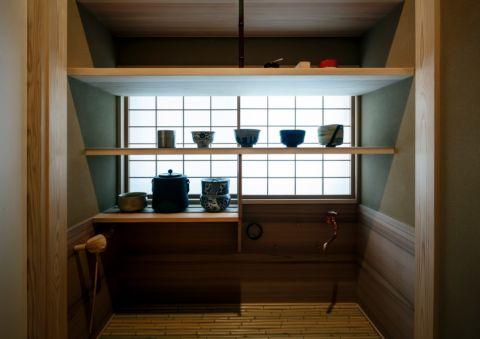 客厅日式风格效果图大全2017图片_土拨鼠清新舒适客厅日式风格装修设计效果图欣赏