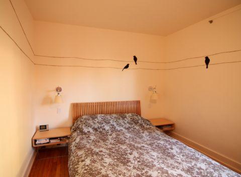卧室现代风格效果图大全2017图片_土拨鼠美感优雅卧室现代风格装修设计效果图欣赏