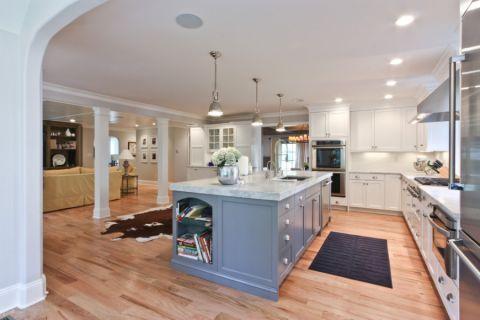 厨房美式风格效果图大全2017图片_土拨鼠精致摩登厨房美式风格装修设计效果图欣赏