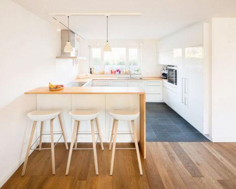 厨房北欧风格效果图大全2017图片_土拨鼠豪华奢华厨房北欧风格装修设计效果图欣赏