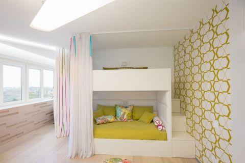 儿童房北欧风格效果图大全2017图片_土拨鼠个性淡雅儿童房北欧风格装修设计效果图欣赏