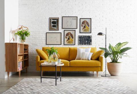 客厅北欧风格效果图大全2017图片_土拨鼠简约奢华客厅北欧风格装修设计效果图欣赏