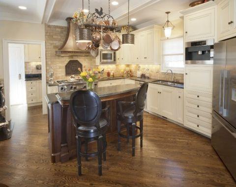 厨房地中海风格效果图大全2017图片_土拨鼠古朴优雅厨房地中海风格装修设计效果图欣赏