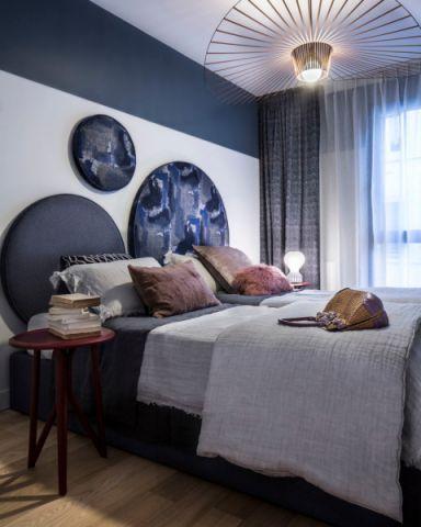 卧室现代风格效果图大全2017图片_土拨鼠简约淡雅卧室现代风格装修设计效果图欣赏