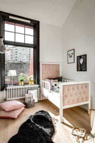儿童房北欧风格效果图大全2017图片_土拨鼠干净纯净儿童房北欧风格装修设计效果图欣赏