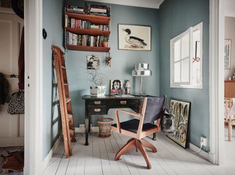 书房北欧风格效果图大全2017图片_土拨鼠简洁温馨书房北欧风格装修设计效果图欣赏
