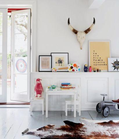 儿童房北欧风格效果图大全2017图片_土拨鼠简约淡雅儿童房北欧风格装修设计效果图欣赏