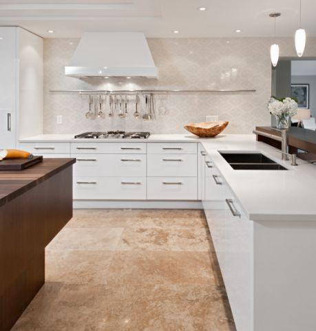 厨房现代风格效果图大全2017图片_土拨鼠大气时尚厨房现代风格装修设计效果图欣赏