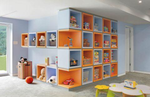 儿童房现代风格效果图大全2017图片_土拨鼠现代风雅儿童房现代风格装修设计效果图欣赏