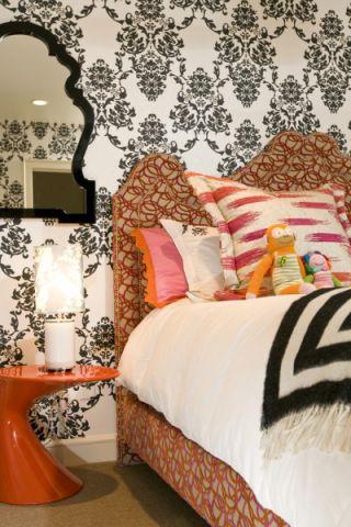 卧室简欧风格效果图大全2017图片_土拨鼠文艺创意卧室简欧风格装修设计效果图欣赏