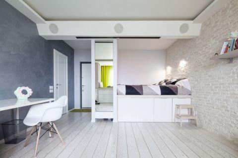卧室北欧风格效果图大全2017图片_土拨鼠干净奢华卧室北欧风格装修设计效果图欣赏