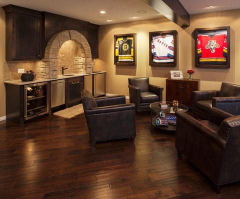 地下室混搭风格效果图大全2017图片_土拨鼠奢华纯净客厅混搭风格装修设计效果图欣赏