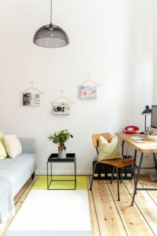 客厅北欧风格效果图大全2017图片_土拨鼠美好写意客厅北欧风格装修设计效果图欣赏