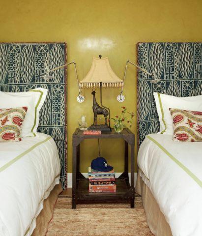 卧室混搭风格效果图大全2017图片_土拨鼠简约质朴卧室混搭风格装修设计效果图欣赏