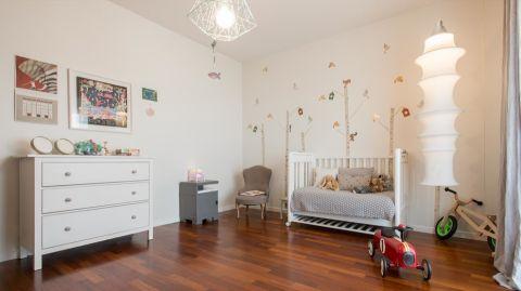 儿童房北欧风格效果图大全2017图片_土拨鼠浪漫淡雅儿童房北欧风格装修设计效果图欣赏