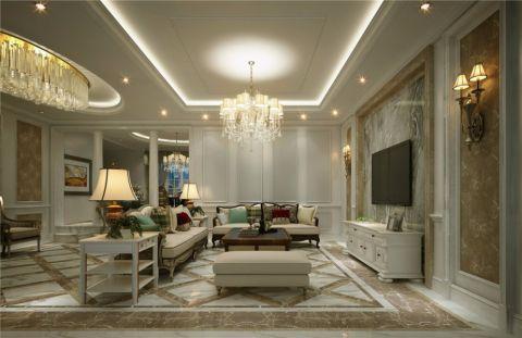 嘉定别墅500平欧式风格别墅装修效果图