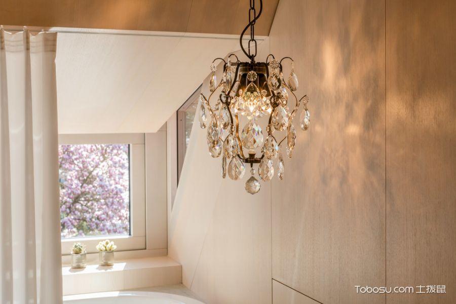 卧室米色灯具现代风格装饰效果图