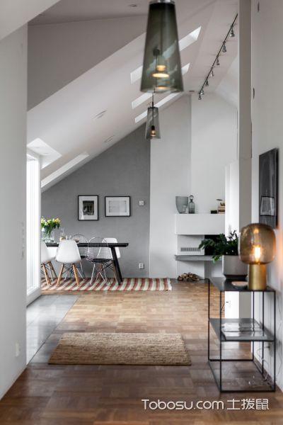 客厅灯具北欧风格装潢效果图