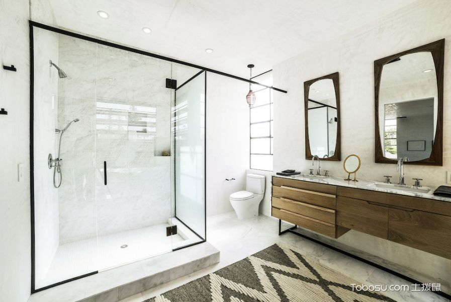 浴室细节北欧家装设计图片