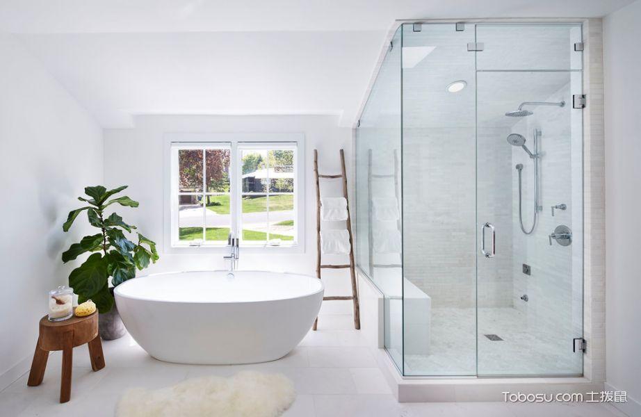 浴室北欧风格效果图大全2017图片_土拨鼠时尚创意浴室北欧风格装修图片