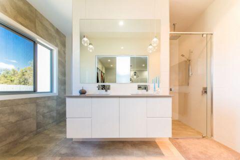 卫生间现代风格效果图大全2017图片_土拨鼠优雅富丽卫生间现代风格装修设计效果图欣赏