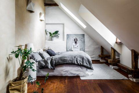卧室北欧风格效果图大全2017图片_土拨鼠温馨迷人卧室北欧风格装修设计效果图欣赏