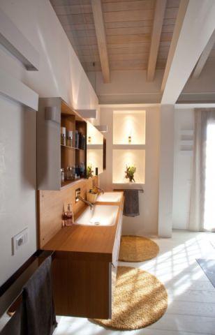 浴室北欧风格效果图大全2017图片_土拨鼠温馨时尚浴室北欧风格装修设计效果图欣赏