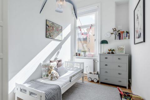 儿童房北欧风格效果图大全2017图片_土拨鼠浪漫唯美儿童房北欧风格装修设计效果图欣赏