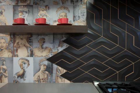 厨房混搭风格效果图大全2017图片_土拨鼠豪华质感厨房混搭风格装修设计效果图欣赏